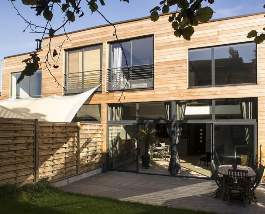 Accueil rn architecture for Conception maison bois