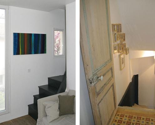 Réhabilitation Maison rénovation escaliers